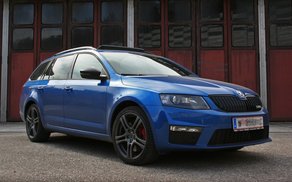 skoda octavia rs race blau galerie octavia rs com. Black Bedroom Furniture Sets. Home Design Ideas